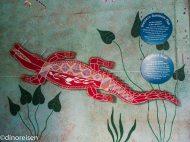 WandbildCrocodile